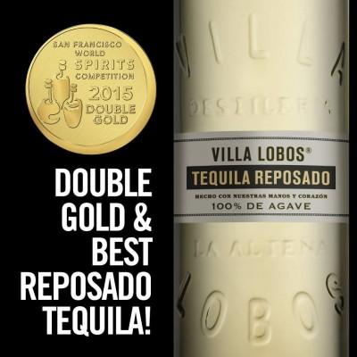Tequila Villa Lobos wins BEST Tequila award 2015