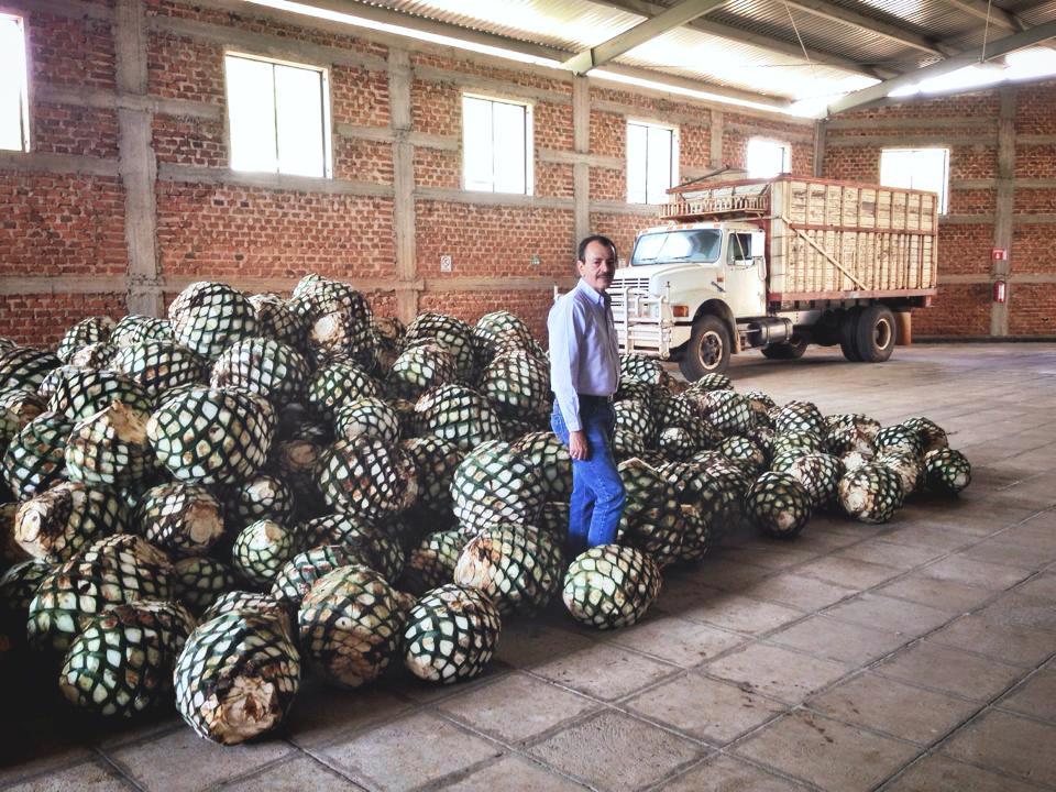 A friend & partner, Carlos Camarena at La Altena Distillery