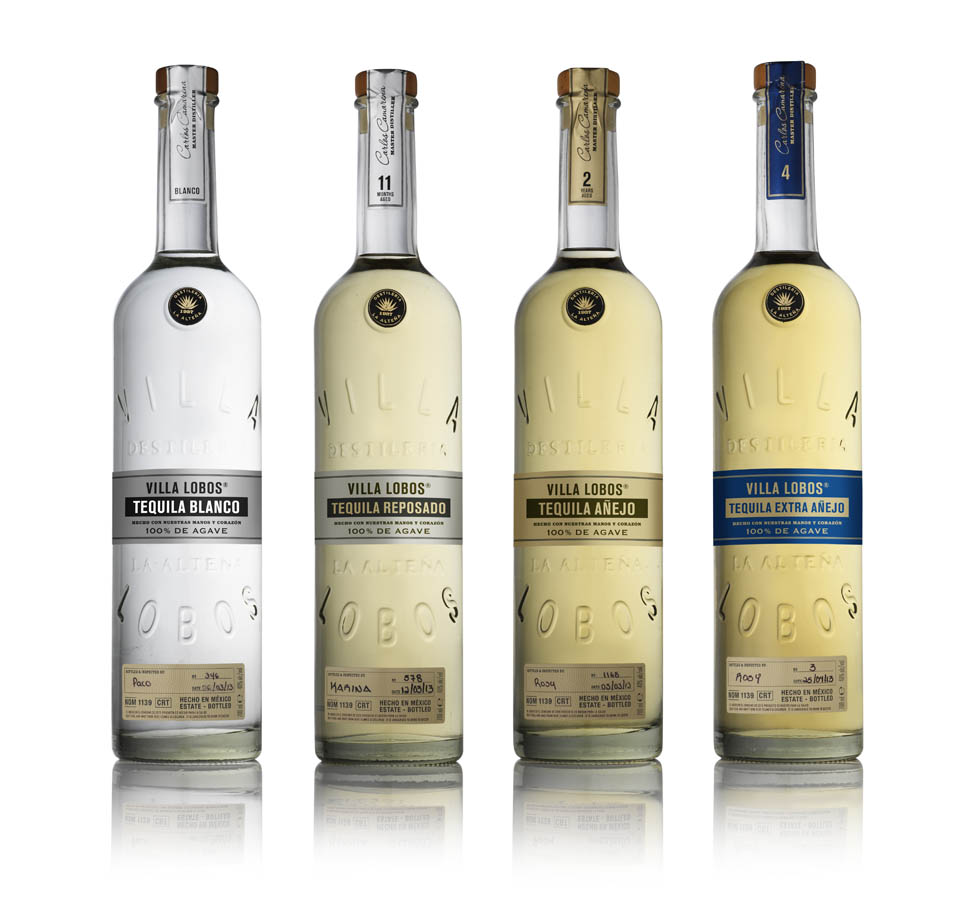Tequila Villa Lobos on it's way to the USA