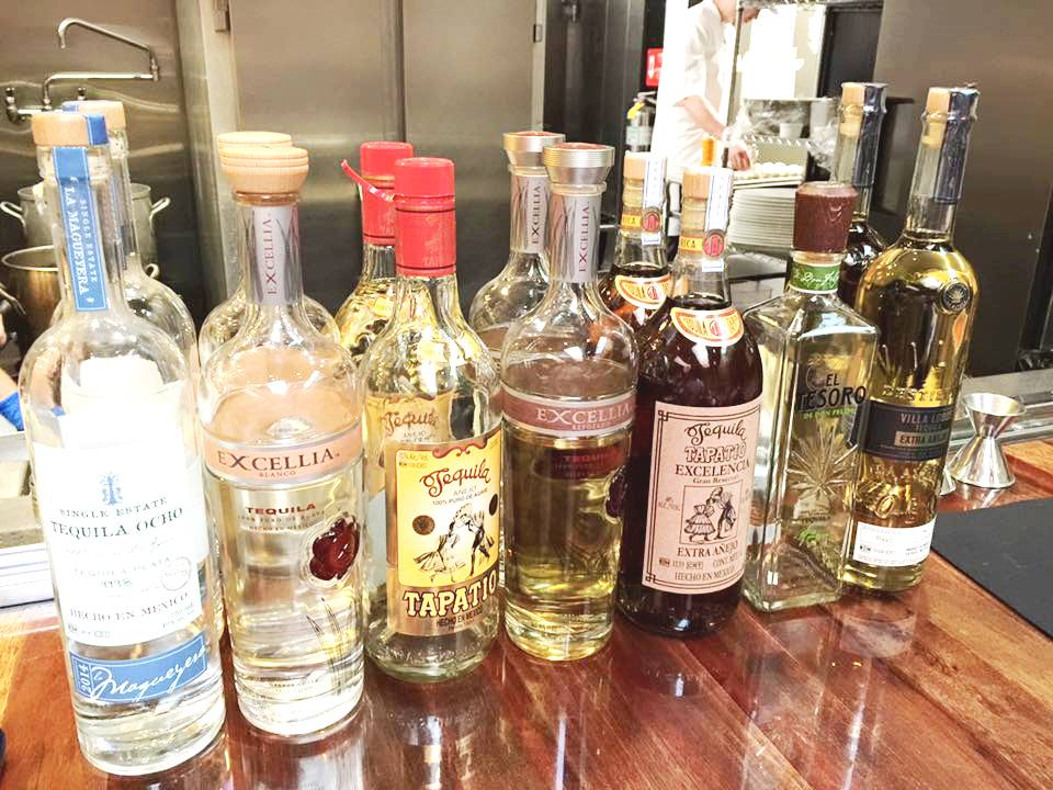 Carlos produces 5 brand of Tequila at La Altena, each with very different characteristics